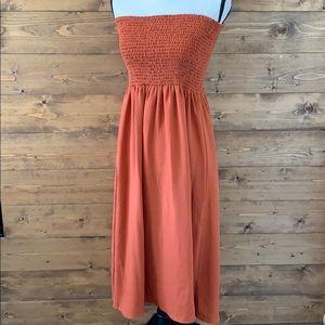 ASOS tube top strapless dress
